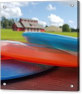 Disc Golf In Auburn Acrylic Print