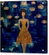Disco Queen Acrylic Print
