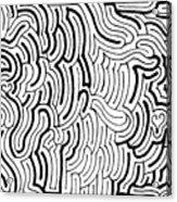 Discordant Acrylic Print