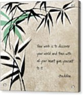 Discover Your World Acrylic Print