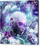 Discovering The Cosmic Consciousness Acrylic Print