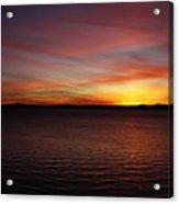Discovery Park Sunset 6 Acrylic Print