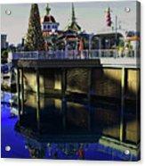 Disney Christmas Reflections Acrylic Print