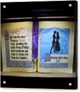 Disneyland Waiting For True Loves Kiss Acrylic Print