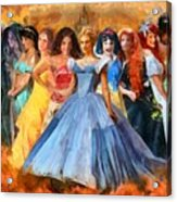 Disney's Princesses Acrylic Print