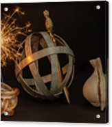 Disparate Objects 2 A Still Life Acrylic Print