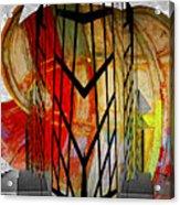 Displaced Doors Acrylic Print