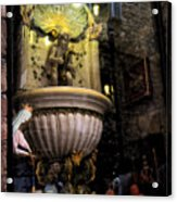 Display Window - Assisi - Italy Acrylic Print
