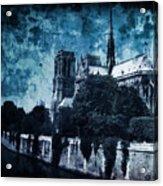 Dissipating Rapture Acrylic Print
