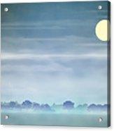 Distant Blue Haze Acrylic Print