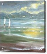 Distant Coast Acrylic Print