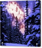 Distant Glade Card Acrylic Print