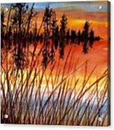Distant Reflections Acrylic Print