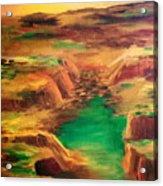 Ditch Acrylic Print