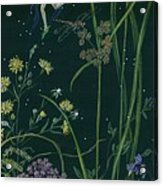 Ditchweed Fairy Cattails Acrylic Print