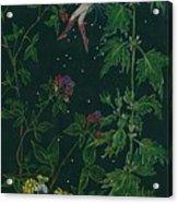 Ditchweed Fairy Raspberry Picking Acrylic Print