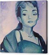 Diva I Maria Callas  Acrylic Print