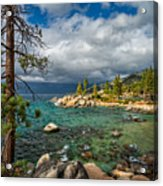 Divers Cove At Lake Tahoe Acrylic Print