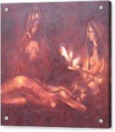 Divination Acrylic Print