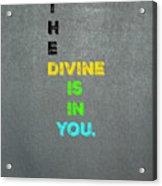 Divine #4 Acrylic Print