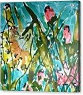Divine Blooms-21191 Acrylic Print