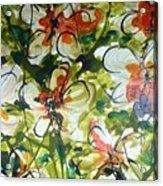 Divine Blooms-21203 Acrylic Print