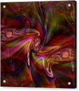 Divine Energy--healing Waves Acrylic Print