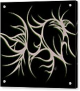 Divine Havoc Acrylic Print