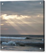 Divine Intervention Acrylic Print by Simon Wolter