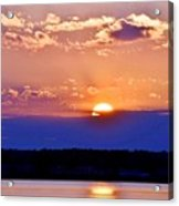 Divine Sunset On The Indian River Bay Acrylic Print