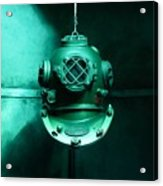 Diving Helmet Acrylic Print