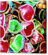 Diwali Decorations 3 Acrylic Print