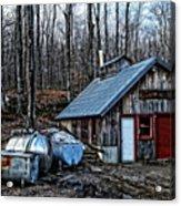 Dix Family Sugar House Acrylic Print