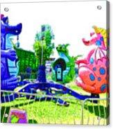 Dizzy Dragon Ride 1 Acrylic Print