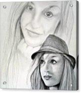 Dj-minnie Acrylic Print