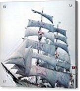 dk tall ships sagres i lyr 1896 D K Spinaker Acrylic Print