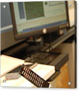 Dna Microarray Acrylic Print