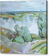 Dnepro River Acrylic Print