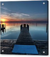 Dnr West Boat Launch Sunrise Acrylic Print