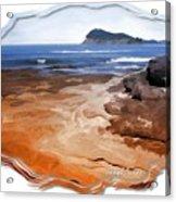 Do-00016 Pearl Beach Acrylic Print