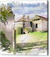Do-00027 Old Cottage Acrylic Print