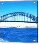 Do-00057 Harbour Bridge Acrylic Print