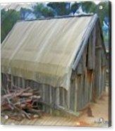 Do-00070 Small Cabin Acrylic Print