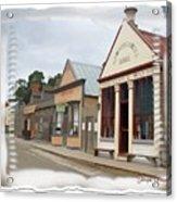 Do-00098 Town Centre - Sovereign Hill Acrylic Print