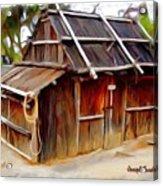 Do-00129 Old Cottage Acrylic Print