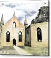 Do-00244 Abandoned Church Acrylic Print