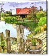 Do-00251 A Farm In Hunter Valley Acrylic Print