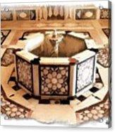 Do-00323 Old Bath Fountain Acrylic Print