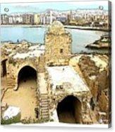 Do-00428 Citadel Looking On Sidon Acrylic Print