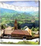 Do-00434 Church In North Lebanon Acrylic Print